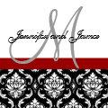 Wedding Invitation Monogram Names Hot Red Damask