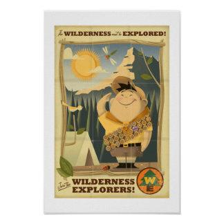 Wilderness Explorers with Russell - Disney Pixar Print