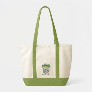 Woody and Buzz - Welcome To Hawaii Impulse Tote Bag