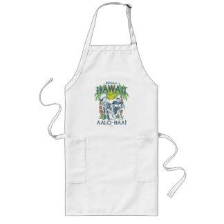 Woody and Buzz - Welcome To Hawaii Long Apron Zazzle_apron